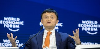 Jack Ma, Co-founder Ali Baba Group