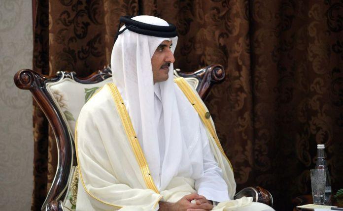 Emir of Qatar Tamim bin Hamad Al Thani