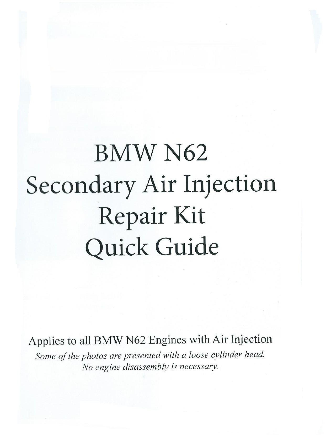 Bmw N62 Torque Specs
