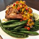 This delicious comfort food is a copycat of Claim Jumper's Jamaican Sweet Potato and it packs major nutrients! thegestationaldiabetic.com 2018 #jamaicansweetpotato #claimjumper