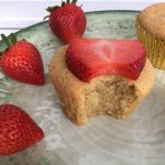Vanilla Cupcakes & Cookies for the gestational diabetes diet with only 16 carbs and 6 ingredients and done in 25 minutes! Also Keto, Paleo, Vegetarian, gluten free, grain free, dairy free and sugar free! thegestationaldiabetic.com