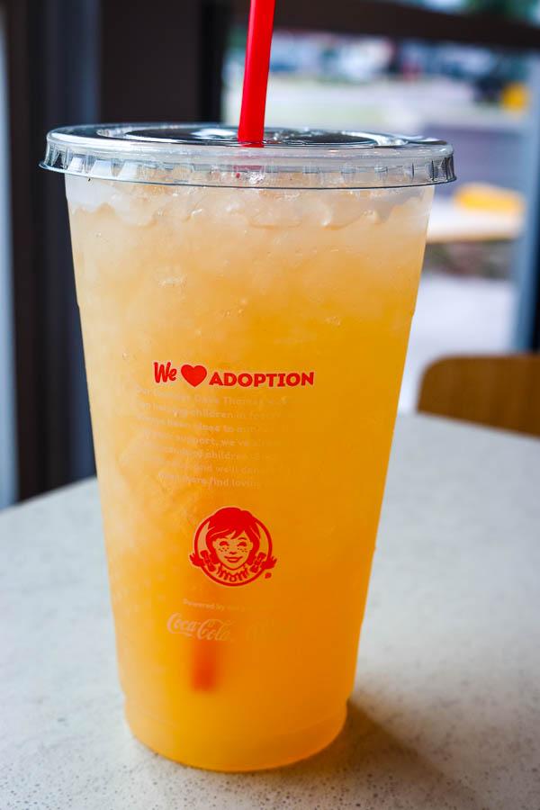 Wendy's Peach Lemonade