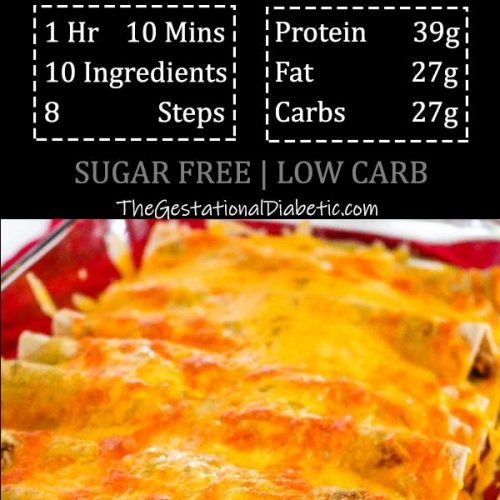 easy instantpot beef smothered burritos with nurtrition and recipe info