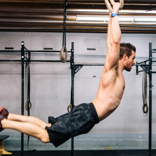allaroundjoe doing Muscle up back swing