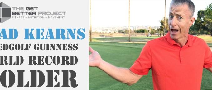 GBP 21: Brad Kearns Speedgolf Guinness World Record Holder with Joe Bauer