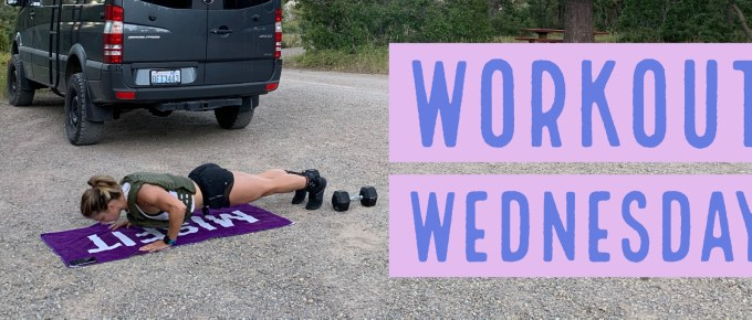 Workout Wednesday - Clean & Move with Emily Kramer and by Joe Bauer