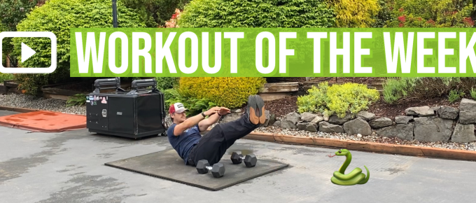 Workout of the Week - Jungle Snake by Joe Bauer of The Get Better Project