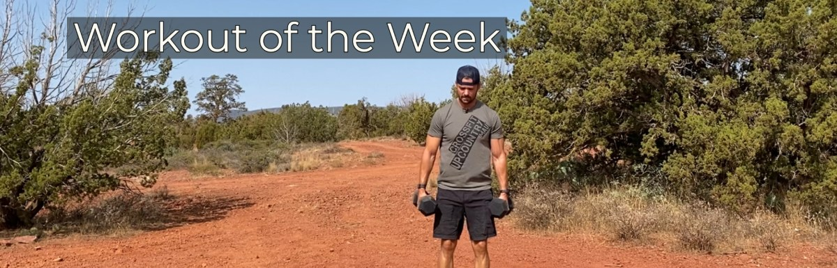 Workout of the Week –  Throw it up (and down)