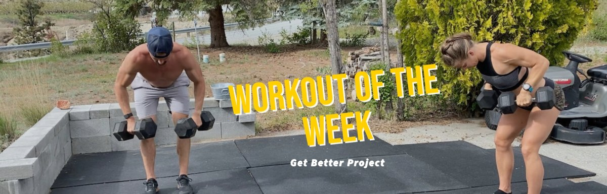 Workout of the Week - Stop & Go by Joe Bauer of the Get Better Project
