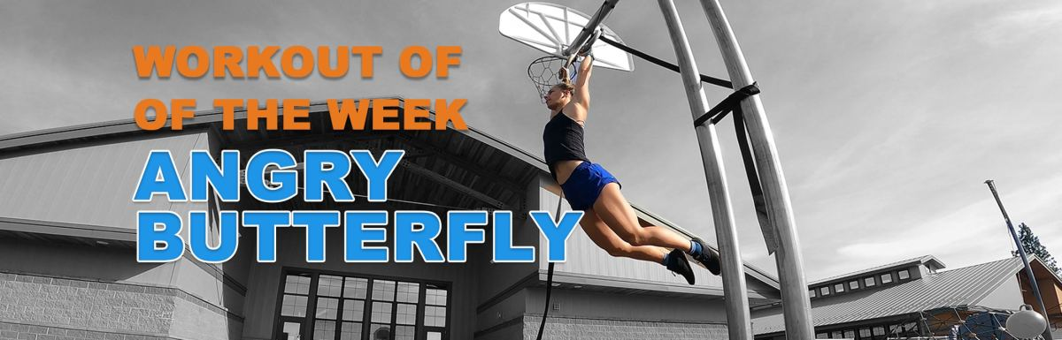 WOTW - Angry Butterfly Emily Kramer doing toes to rings
