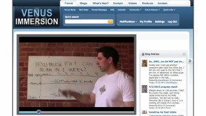 The Venus Factor Immersion Example