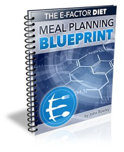 The E-Factor Diet Meal Planning Blueprint