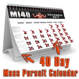 Mi40 pursuit calendar