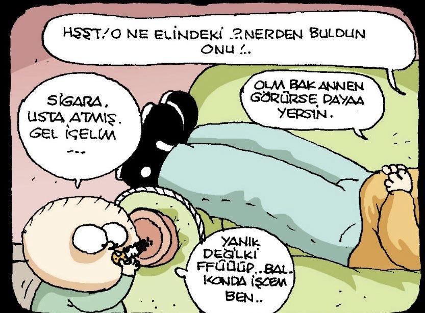 Komik Fırat Karikatürleri The Geyik