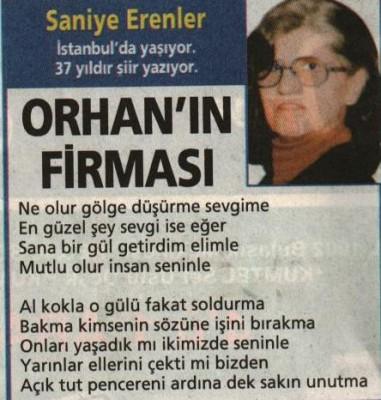 orhan'ın firması