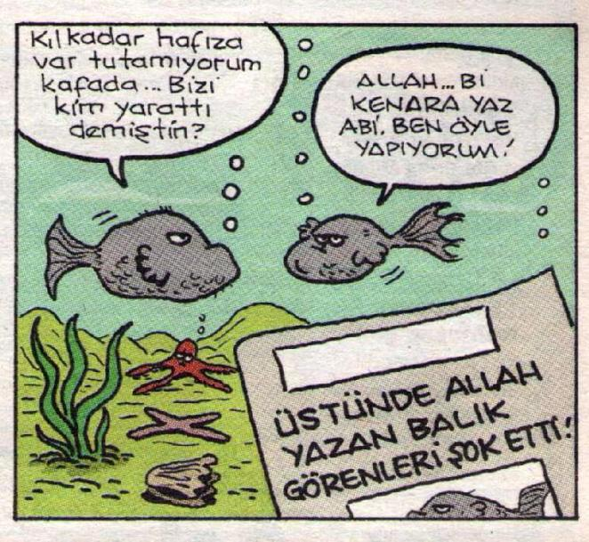 Allah yazan balık