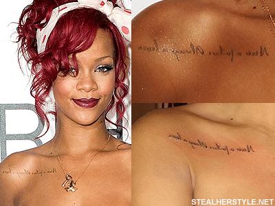 Rihanna Dövme