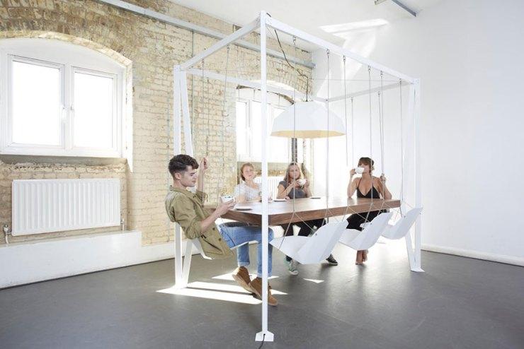 Salıncak masa tasarımı