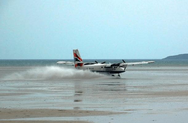 Barra Uluslararası Havalimanı,İskoçya