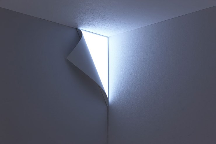 Duvar sayfa gibi lamba