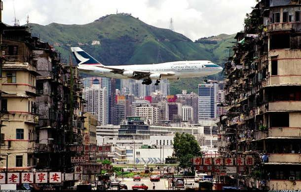 Kai Tak Havalimanı, Hong Kong