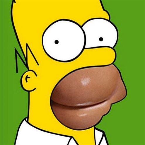 Kim Kardashian Simpsons