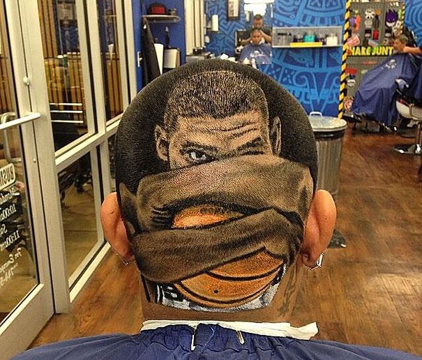 Tim Duncan Modeli Saç