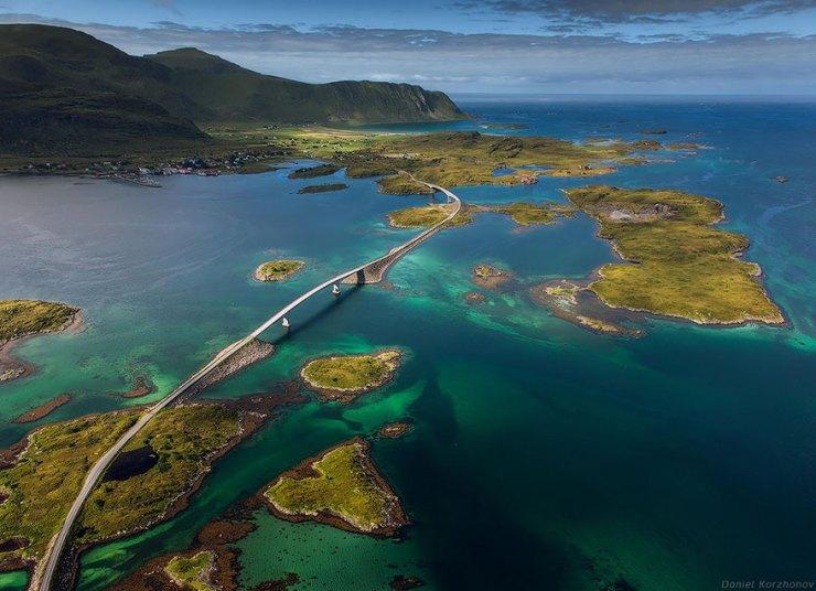 Lotofen Adaları, Fredvang Köprüleri