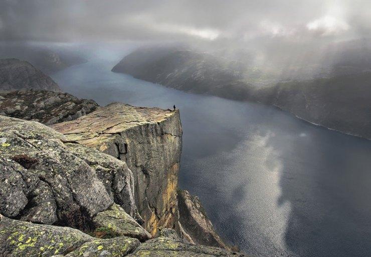 Preikestolen, Norveç Manzaraları