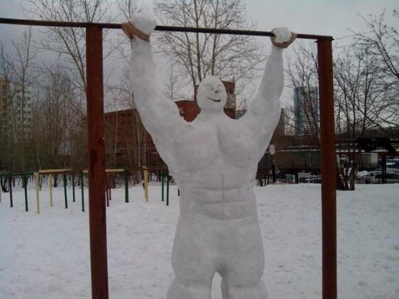 İlginç kardan adamlar11