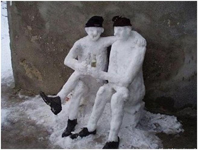 İlginç kardan adamlar9 (2)