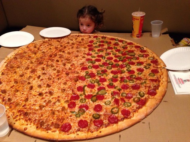 Büyük Pizza