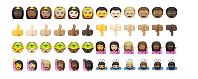 Emojiler renkleniyor -1