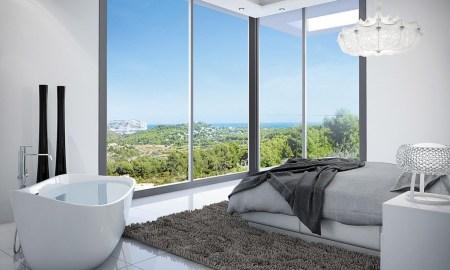 Küvetli yatak odası