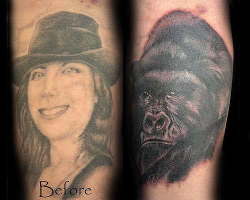 sevgiliden ayrılınca dövme değiştirme