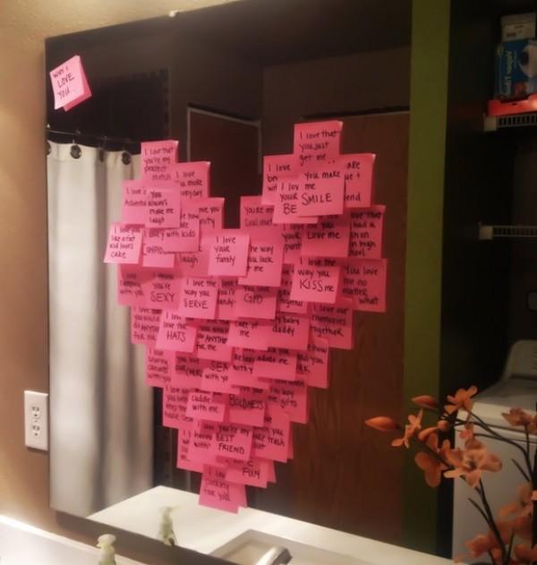 sevgililer günü kendin yap - sticker