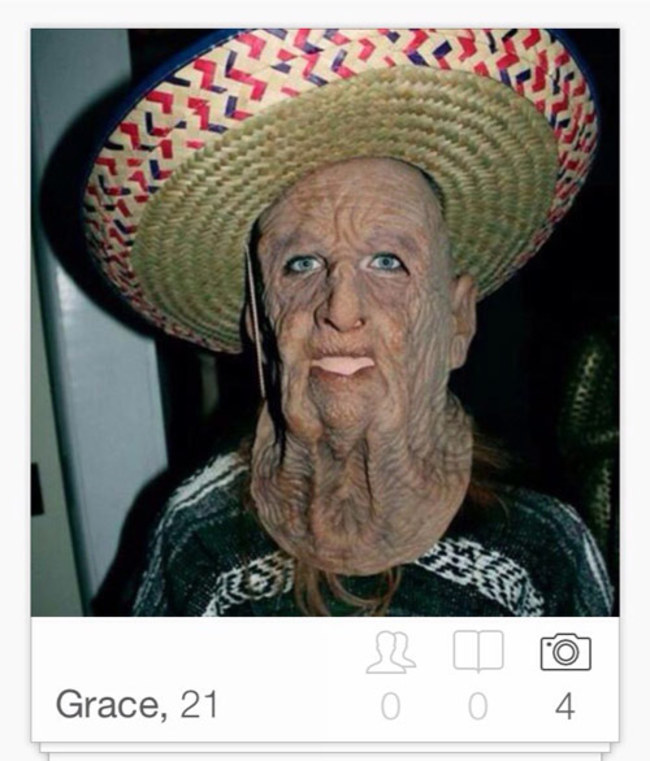 İlginç Tinder Profil fotoğrafları -11