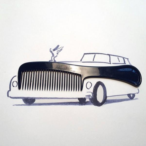 Christoph Niemann basit  yaratıcı çizimler  15