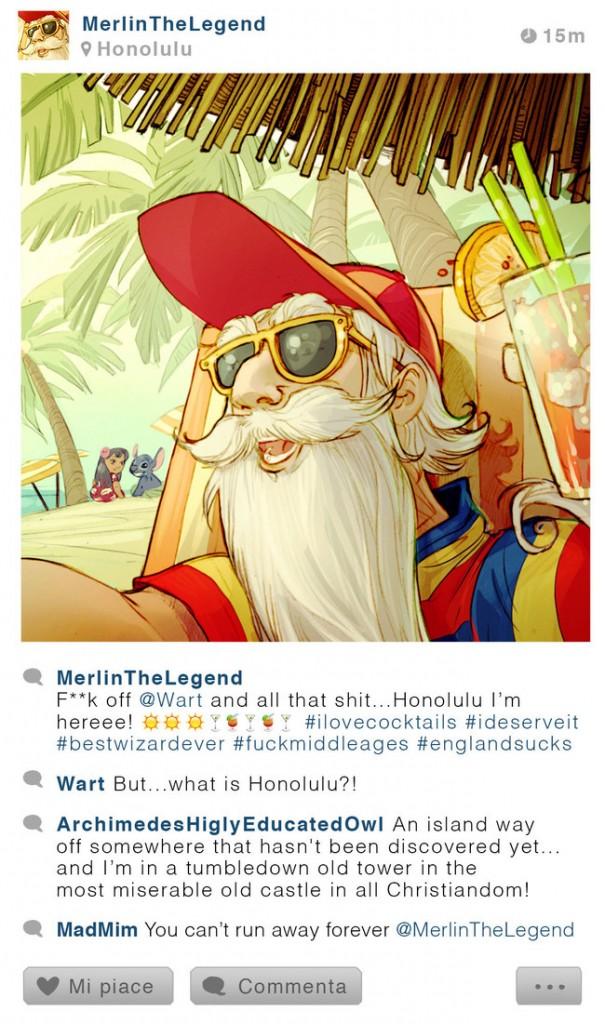 Disney Karakterlerinin Instagram Hesabı Olsaydı- 8