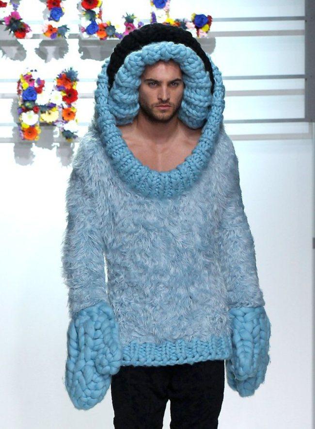 Erkek modasının absürd kıyafetleri