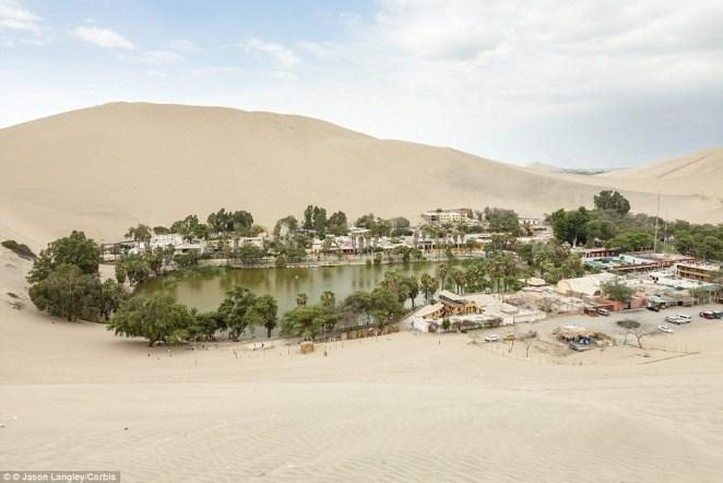 Huacachina Çöl Kent - 5