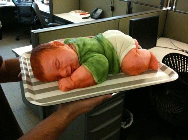 Komik bebek doğum pastaları -6
