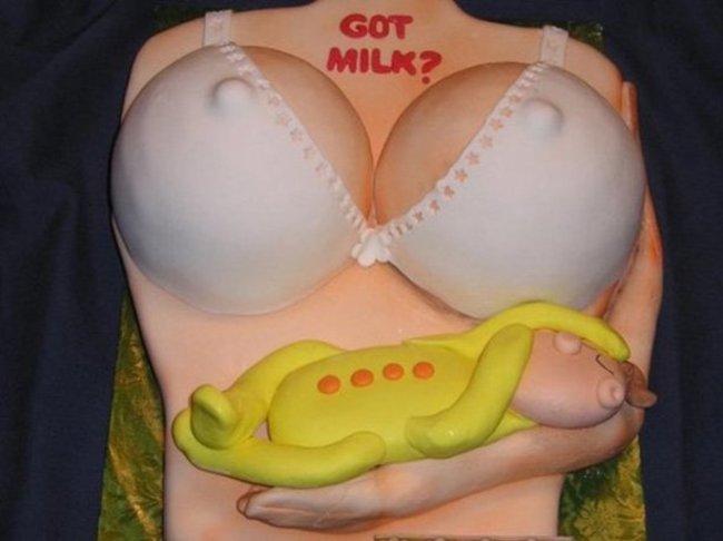 Komik bebek doğum pastaları -9