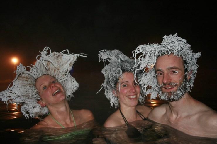 Kuzey kanada saç donduran soğukları -4