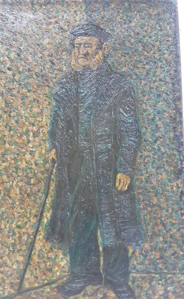 van-gogh-Old man with a stick