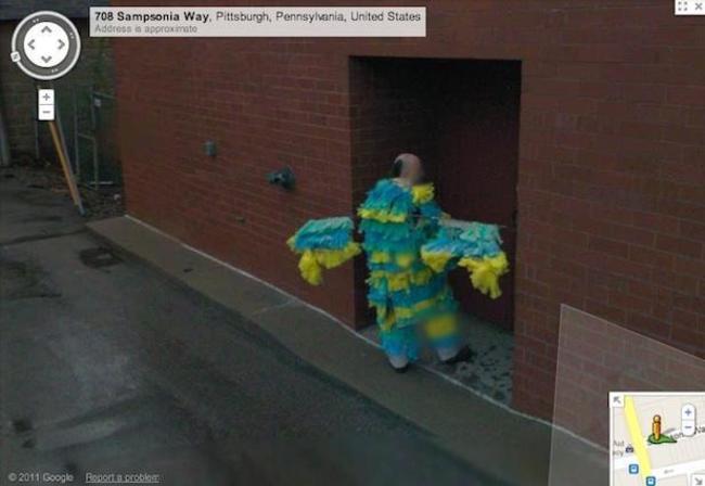 Google'a yakalanan ilginç yeni komik görüntüler 5