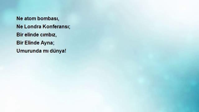 cımbızlı şiir