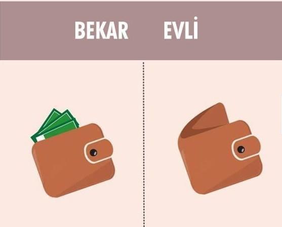 bekar erkek cüzdanı