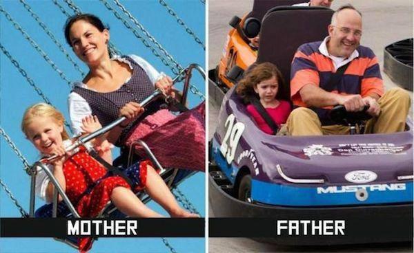Anne ve Baba Arasındaki farklar4