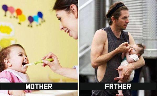 Anne ve Baba Arasındaki farklar9